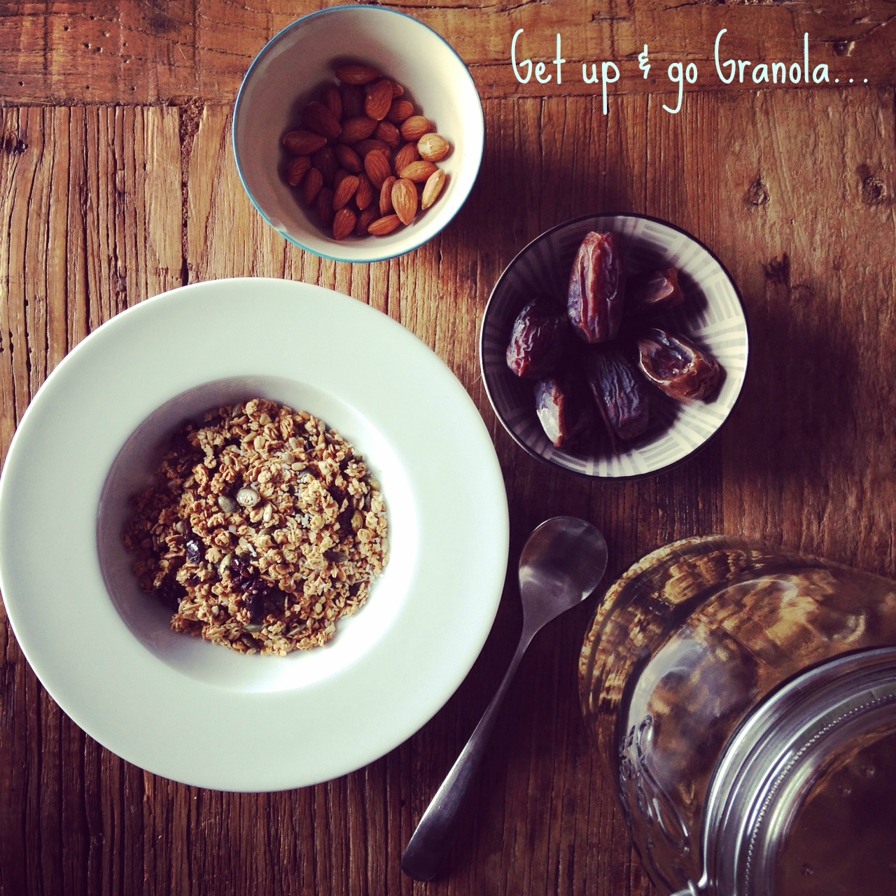 Energising recipe - Get Up & Go Granola