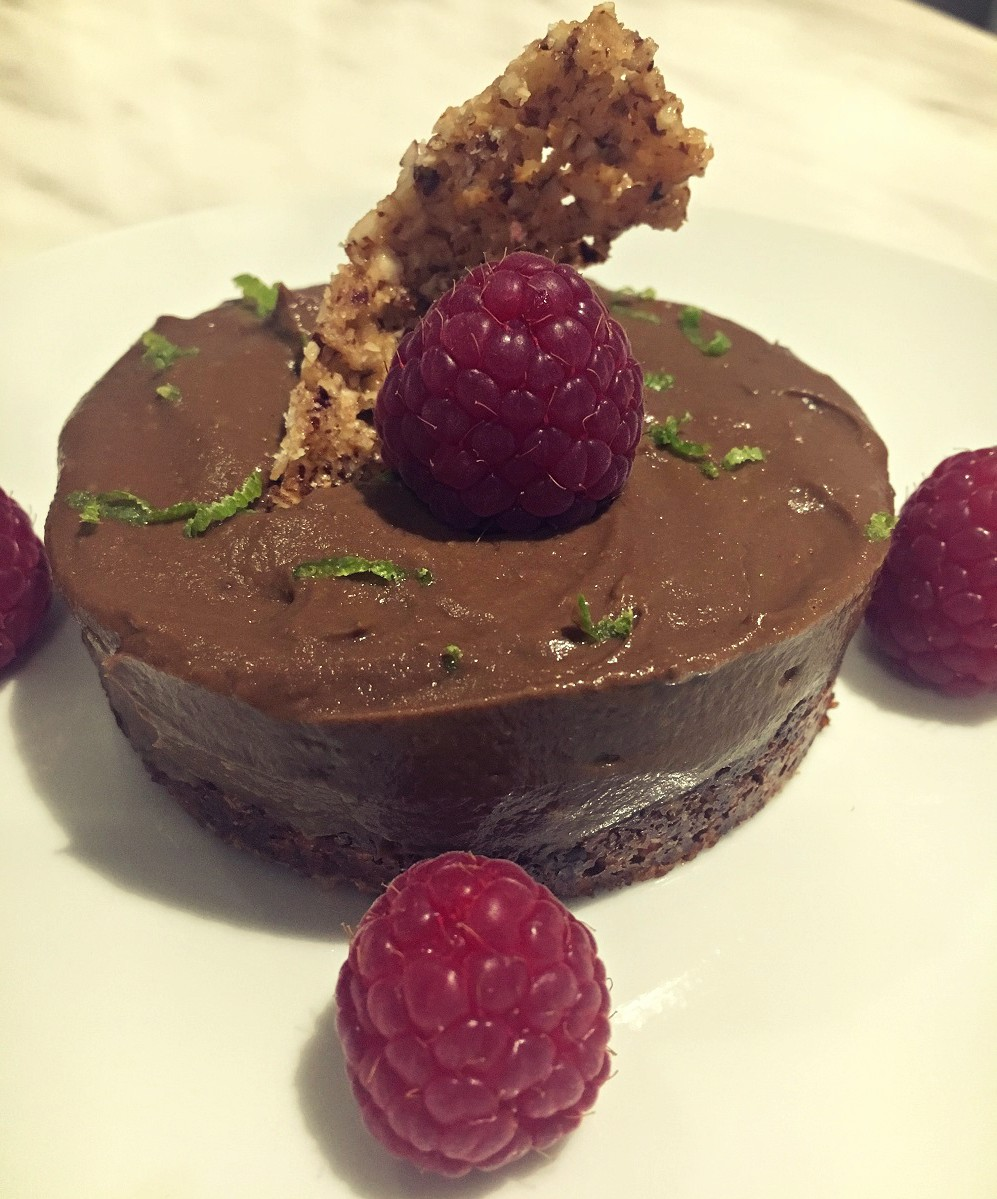 Chocolate 'No Cheese' Cheesecake